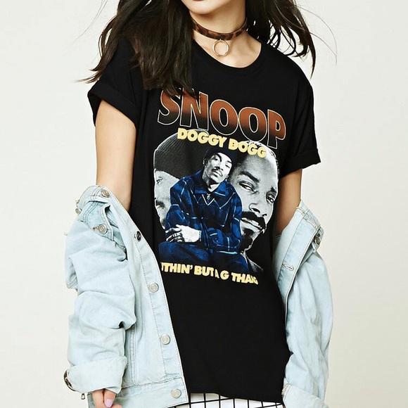 ef82f83e2 Forever 21 Tops - Forever 21 Snoop Dogg T Shirt